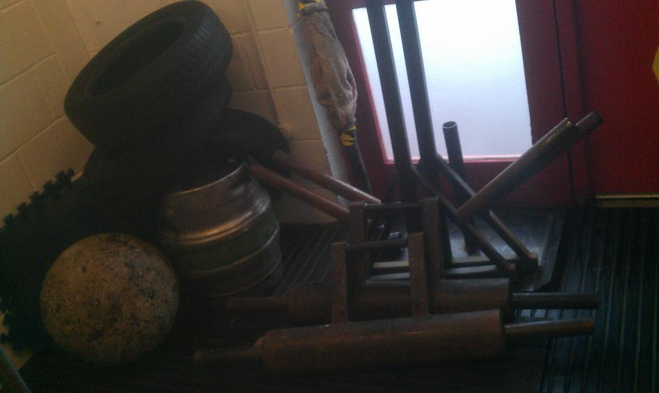 Gym Weights and Iron
