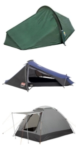 The tent I nearly bought, the tent I tried to buy and the tent they sent me.